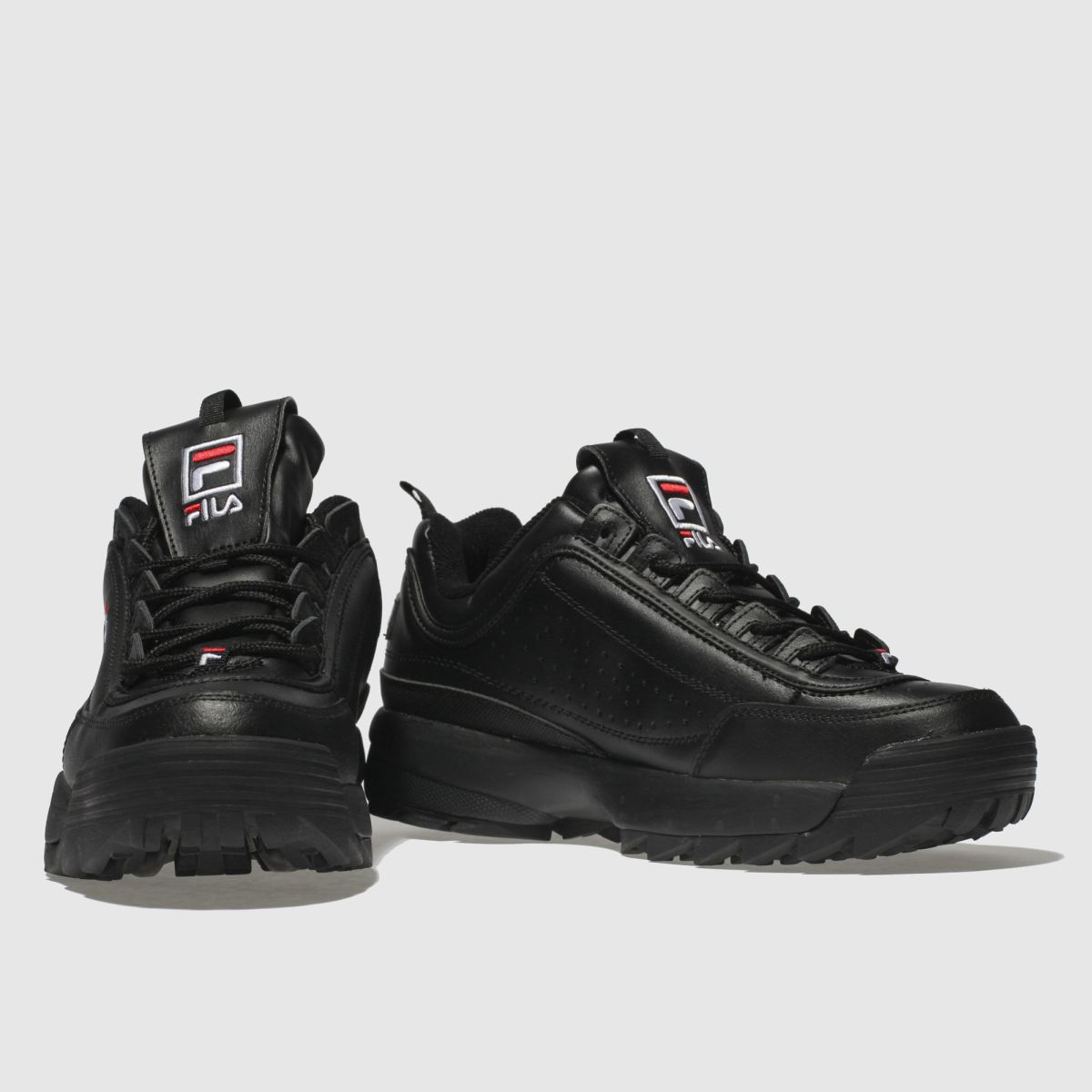 Herren Schwarz fila Disruptor Ii Premium Sneaker | schuh Gute Qualität beliebte Schuhe