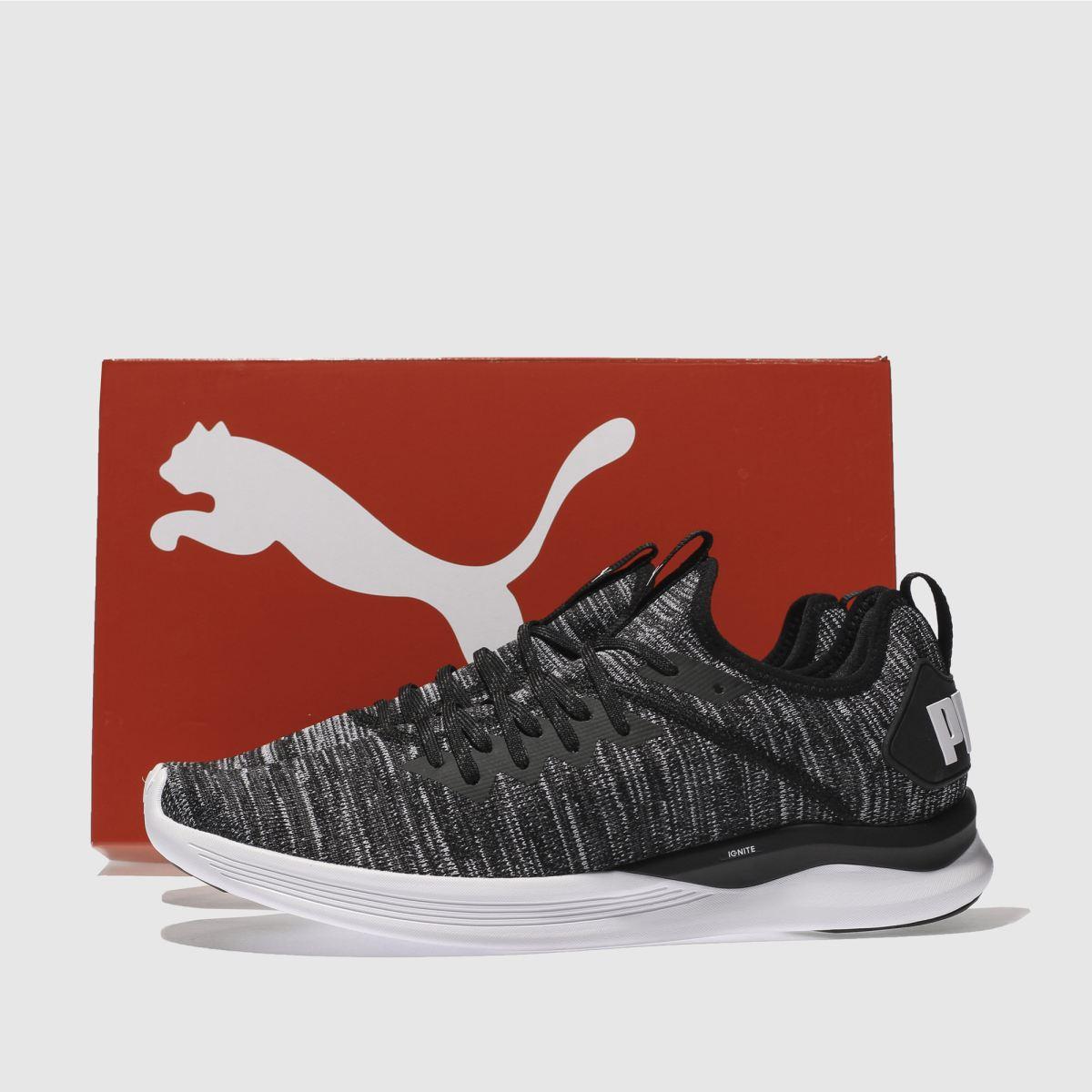 Herren Schwarz-weiß puma | Ignite Flash Evoknit Sneaker | puma schuh Gute Qualität beliebte Schuhe 7c16a1