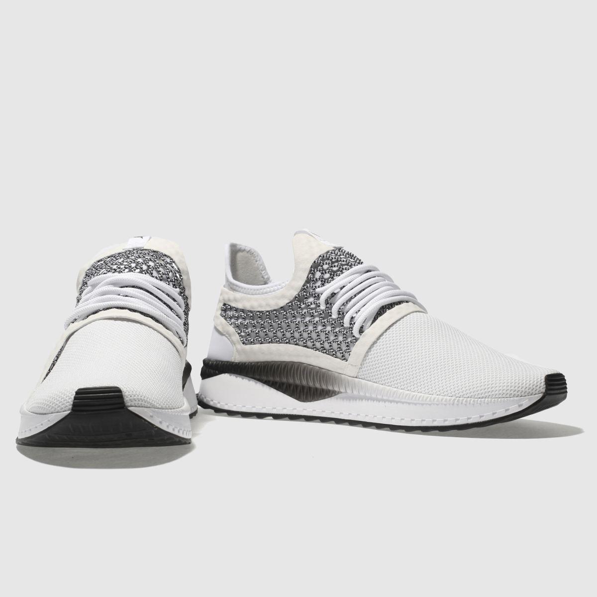 Herren Weiß-schwarz puma Tsugi Netfit V2 Sneaker | schuh Gute Qualität beliebte Schuhe
