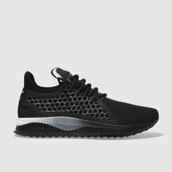 Puma Black & White Tsugi Netfit V2 Mens Trainers
