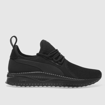 PUMA BLACK TSUGI APEX TRAINERS