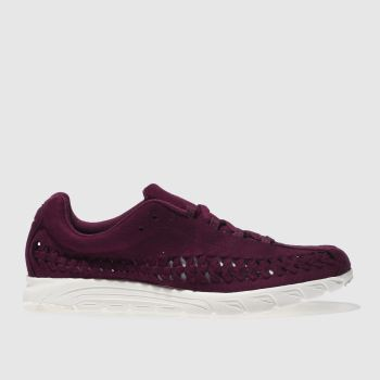 Nike Purple Mayfly Woven Mens Trainers