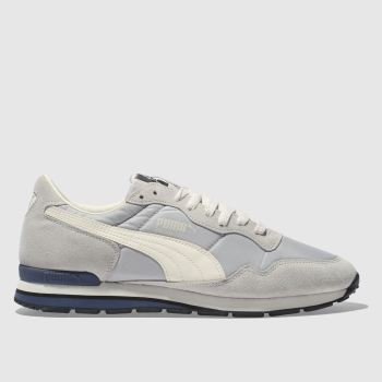 Puma Grey Rainbow Sc Mens Trainers