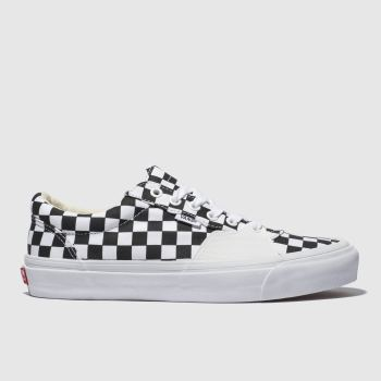 Vans White & Black Style 205 Mens Trainers