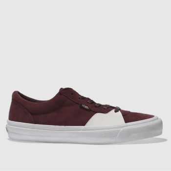 Vans Burgundy Style 205 Mens Trainers