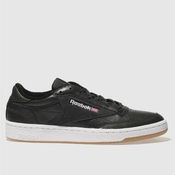 Reebok Black Club C 85 Essential Mens Trainers