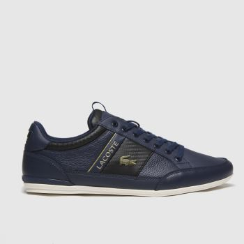 Lacoste Navy Chaymon Mens Trainers#