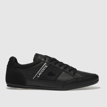 Lacoste Black & White Chaymon Mens Trainers