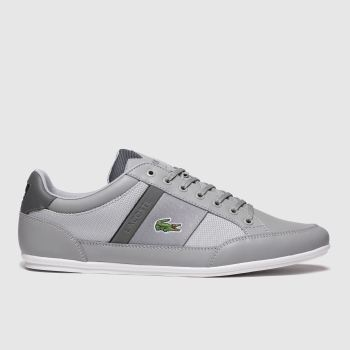 Lacoste Grey Chaymon c2namevalue::Mens Trainers