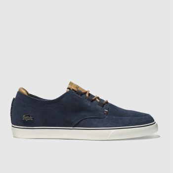 Lacoste Navy Esparre Deck c2namevalue::Mens Trainers