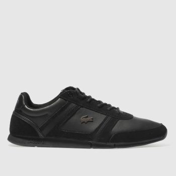 Lacoste Black Menerva Mens Trainers