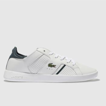 Lacoste White Novas Ct Mens Trainers