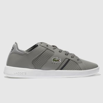 Lacoste Grey Novas Ct Mens Trainers