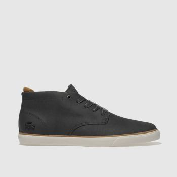 Lacoste Black & White Esparre Chukka Mens Trainers