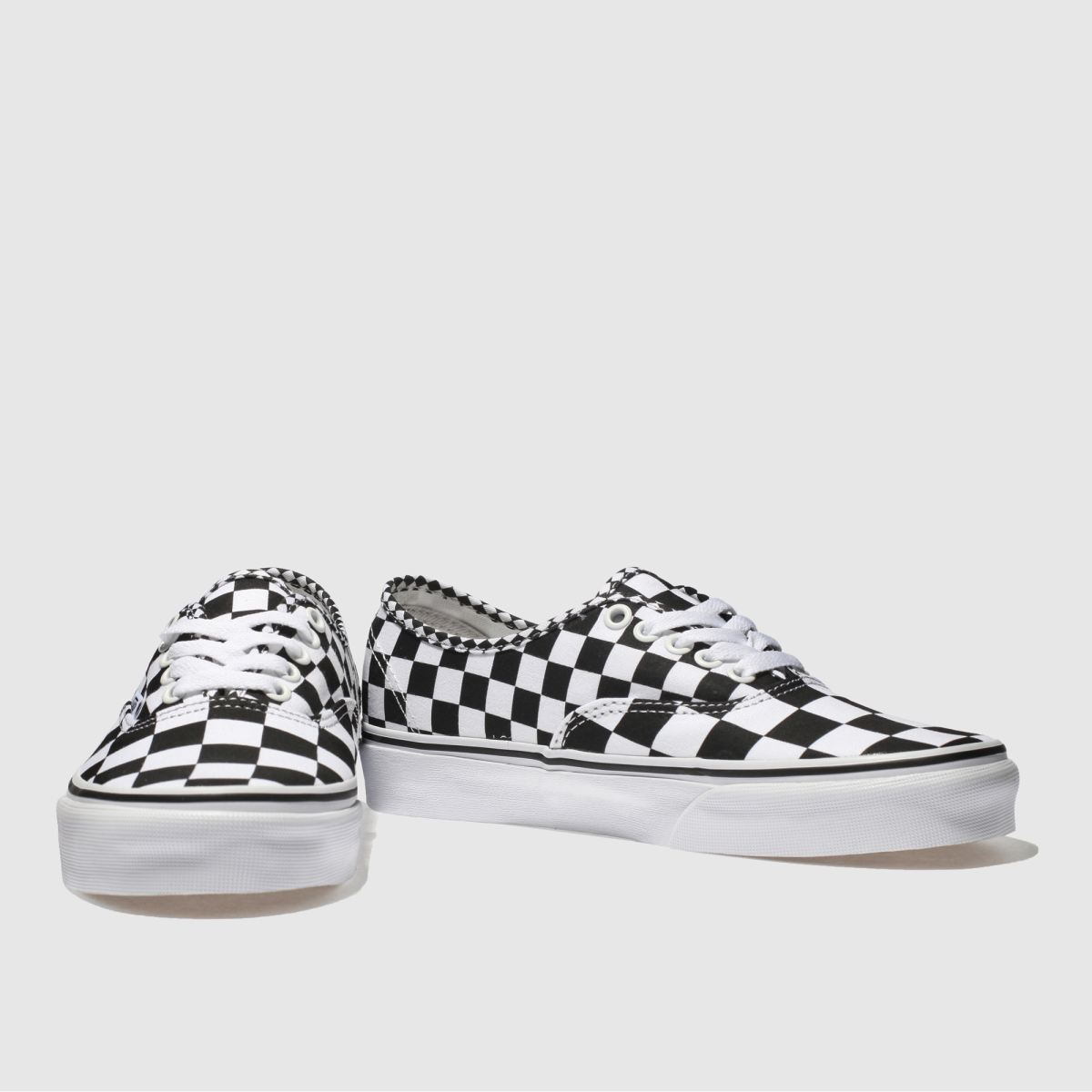 Herren Weiß-schwarz Gute vans Authentic Mix Checker Sneaker | schuh Gute Weiß-schwarz Qualität beliebte Schuhe 73be13