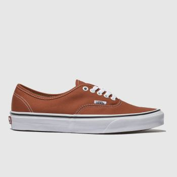 Vans Orange Authentic Herren Sneaker