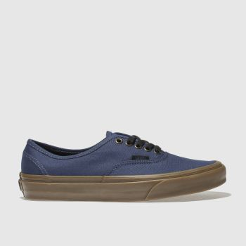 Vans Blue Authentic Mens Trainers