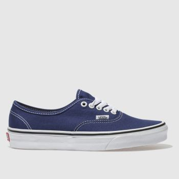 Vans Navy Authentic Mens Trainers
