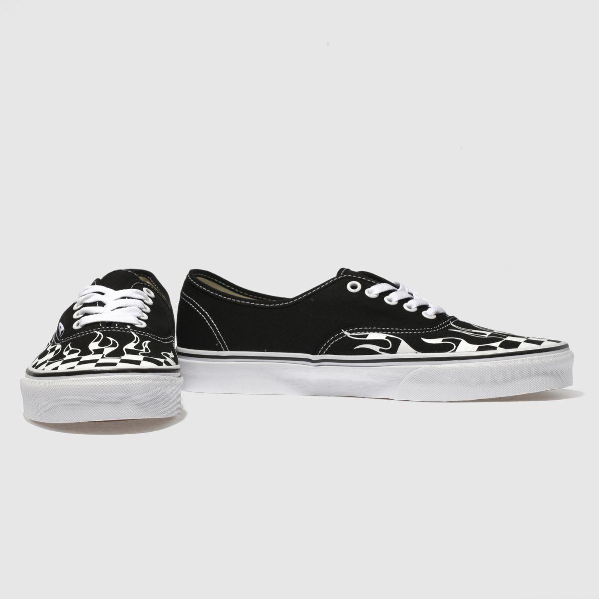 6facafe1c01539 Herren Schwarz-weiß schuh vans Authentic Sneaker