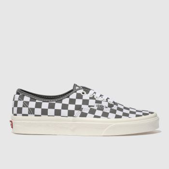 VANS DARK GREY AUTHENTIC TRAINERS