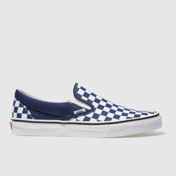 Vans White Classic Slip-On Mens Trainers