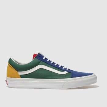 Vans Green Old Skool Mens Trainers