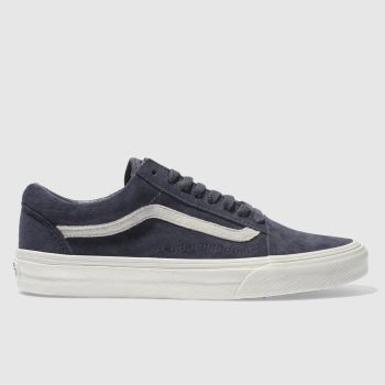 Vans Navy & White Old Skool Mens Trainers