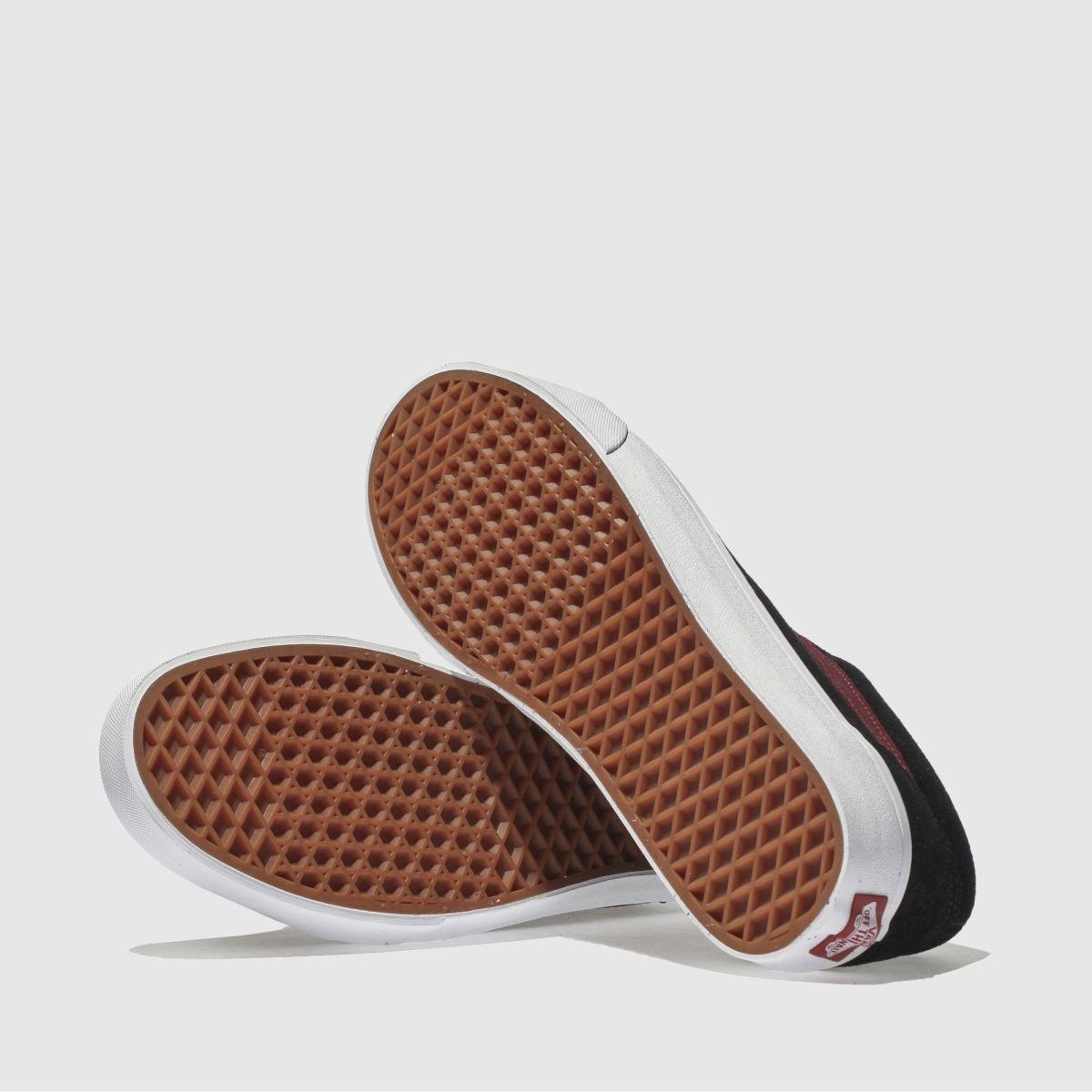 Herren schuh Schwarz-rot vans Old Skool Sneaker | schuh Herren Gute Qualität beliebte Schuhe 73ecaf