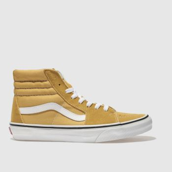 Vans Yellow Sk8-Hi Mens Trainers
