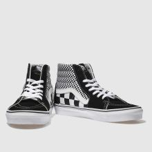 Vans sk8-hi mix checker 1
