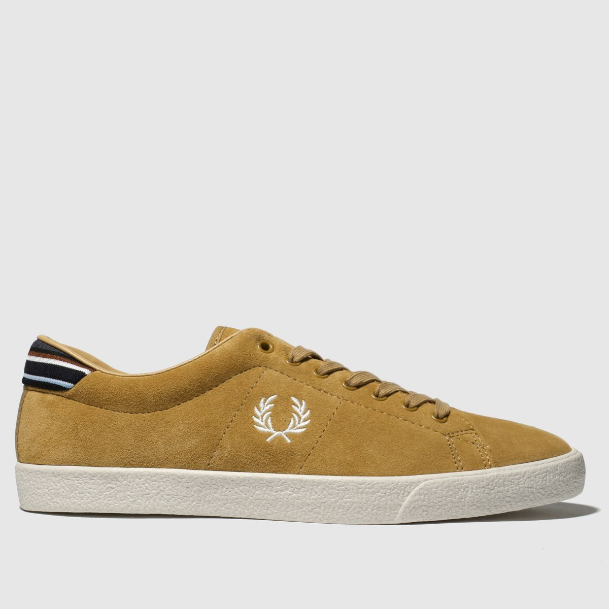 Fred Perry Tan Underspin Trainers