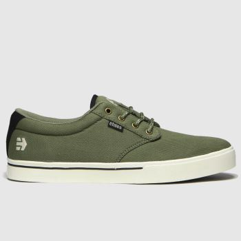 Etnies Khaki Jameson 2 Eco c2namevalue::Mens Trainers