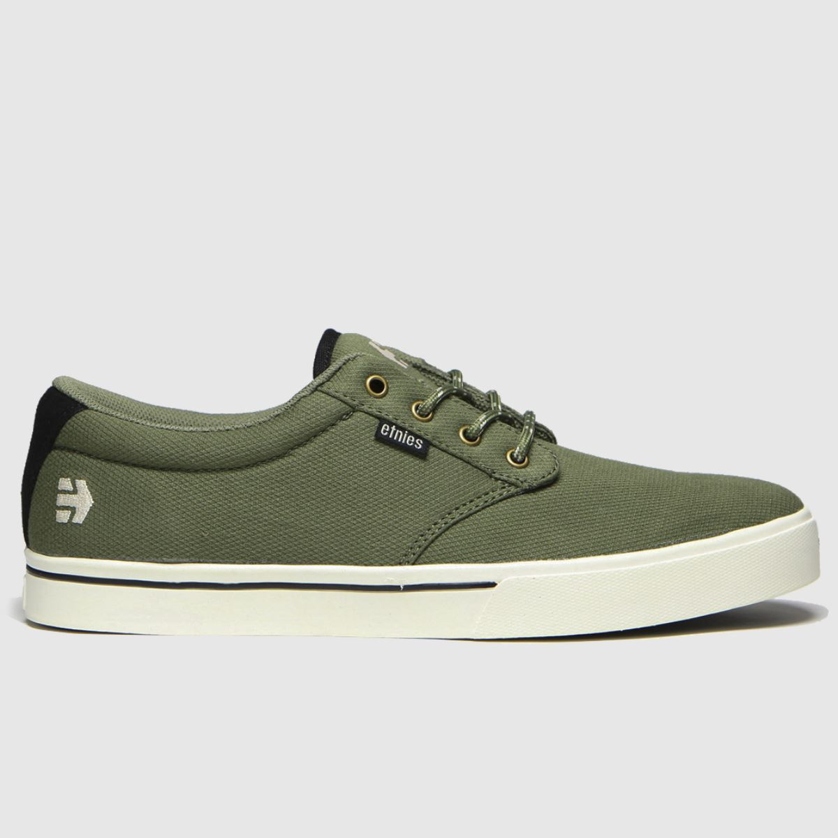 Etnies Khaki Jameson 2 Eco Trainers