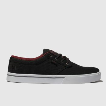 Etnies Black & Red Jameson 2 Eco Mens Trainers