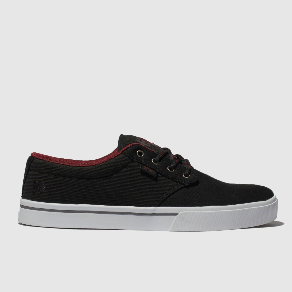 Etnies Black & Red Jameson 2 Eco Trainers