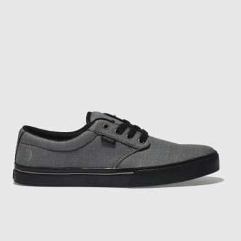Etnies Grey & Black Jameson 2 Eco Mens Trainers