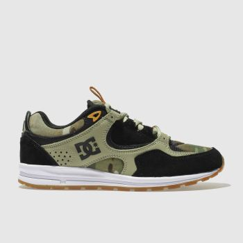 Dc Shoes Beige Kalis Lite Mens Trainers