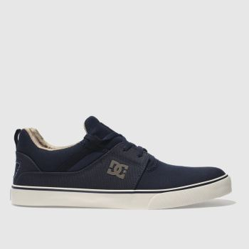 Dc Shoes Navy Heathrow Vulc Tx Mens Trainers