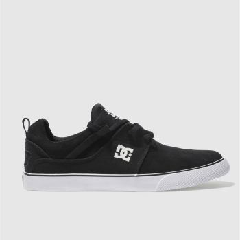 Dc Shoes Black & White HEATHROW VULC SE Trainers