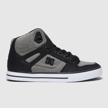 DC Black Pure High-top Wc Tx Se Mens Trainers