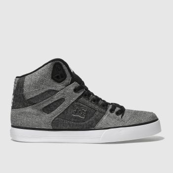 Dc Shoes Grey Pure Wc Tx Se Mens Trainers