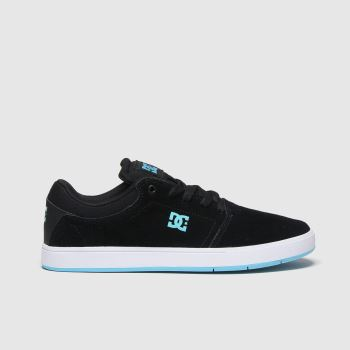 DC Black and blue Crisis Mens Trainers