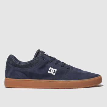 Dc Shoes Navy Crisis Mens Trainers