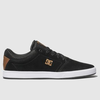 Dc Shoes Black & White Crisis Mens Trainers