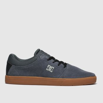 Dc Shoes Dark Grey Crisis Mens Trainers