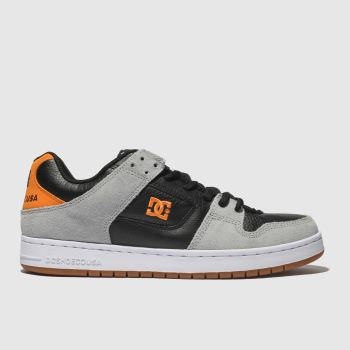 Dc Shoes Black & Orange Manteca Tx Se Mens Trainers
