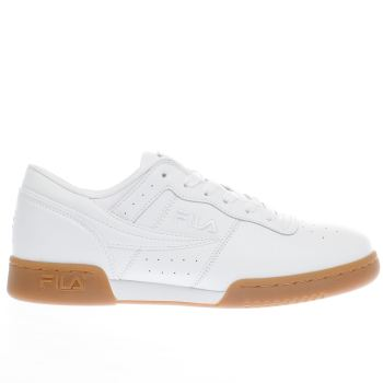 Fila White Original Fitness Mens Trainers