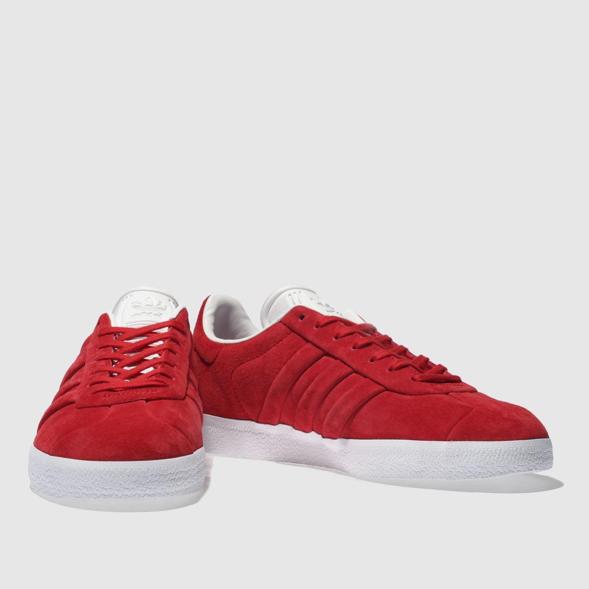 Herren Rot adidas Gazelle Stitch And Turn Sneaker | schuh Gute Qualität beliebte Schuhe