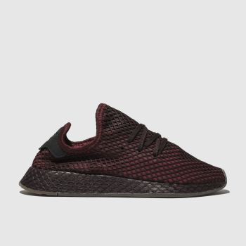 Adidas Burgundy Deerupt Runner Mens Trainers