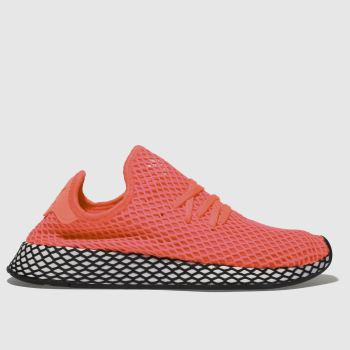 Adidas Pink Deerupt Runner Mens Trainers